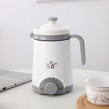 Мини электрический тепловой чайник керамический нагреватель воды чашка молочный котел лапша каша тушеный горшок детское питание Мультиварка чайник 220 В