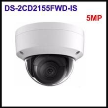 Original Hikvision 5 MP Network Dome CameraDS-2CD2155FWD-IS stardot WDR w/Audio Alarm Security CCTV IP Camera IP67