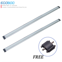 (2 pieces/lot) 9w 12v DC 80cm Long line Led Under Cabinet Light cupboard lamp In Marine/caravan for home Decoration iumination