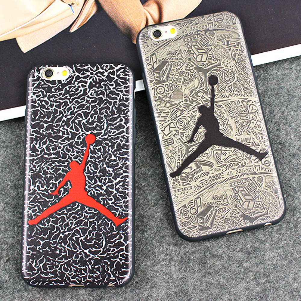 23 michael jordan case for iphone 7 plus bumper capa silicone silicon capinha coque phone cover