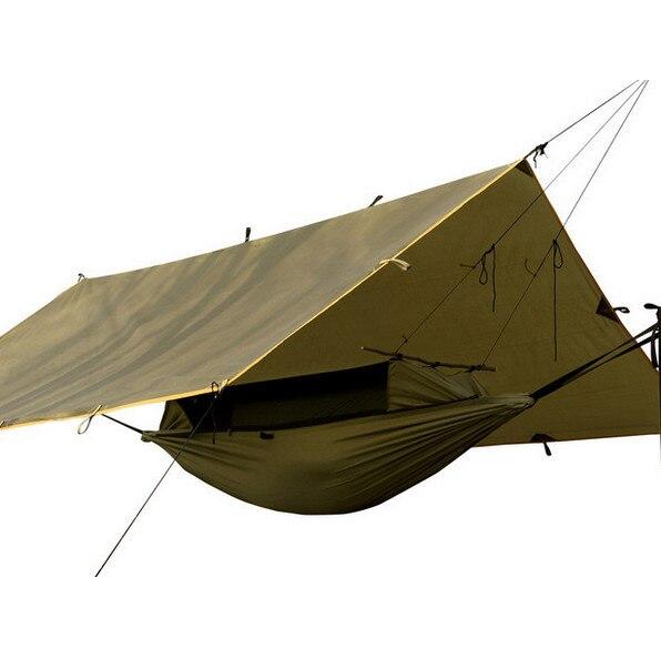 En plein air marque camping randonnée multifonctionnel portable sol anti moustique insectes déchirure tente résistant à l'usure hamac sac de couchage