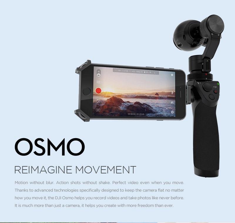 Dji Osmo genggam 4 K kamera dan 3-Axis Gimbal Phantom 3 baru melepaskan panas dalam stok pengiriman gratis лонгслив bikkembergs bikkembergs bi535ebwdd56