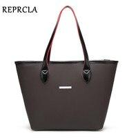 REPRCLA Brand New Women Bag Designer Handbags High Quality PU Shoulder Bag Women S Tote Top