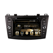 ROM16G1024*600 Quad Core Android 4.4.4 Fit MAZDA 3 2010 2011 2012 2013 2014 2015 Car head unit stereo GPS TV 3G Radio map CANBUS