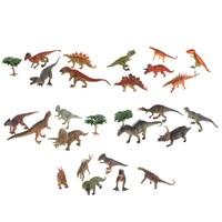 Mini Plastic Dinosaurs Model Figures Cute Animals Gifts Boys Toys Hobbies Kids Educational Toys