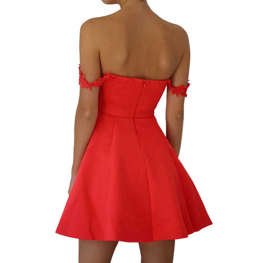 2017 sommer Party Kleid Frauen Figurbetontes Bandeau Kleid Plunge ...