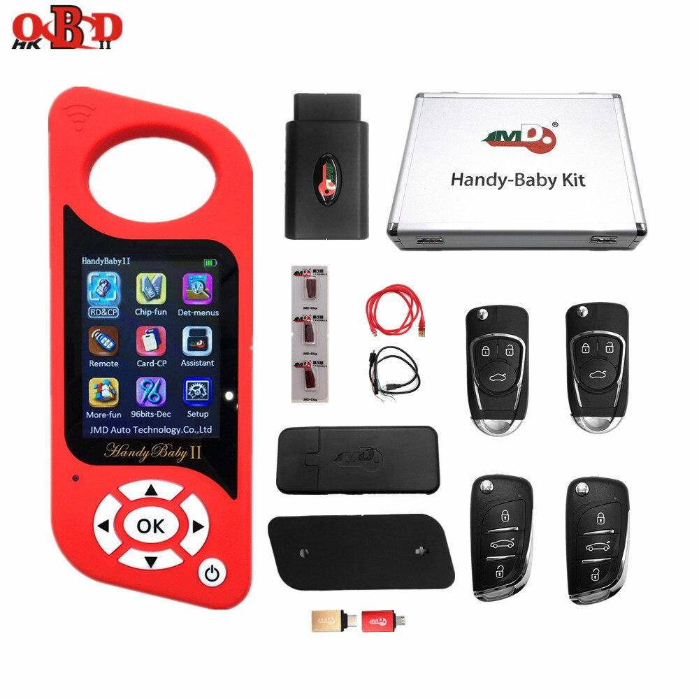 Original JMD Multi-language Handy Baby 2 Car Key Chip Copier Handy Baby II Auto Key Programmer Free G And 96bit 48 Function