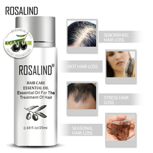 все цены на ROSALIND 20ml Keratin Treatment Hair Serum Hair Treatment Mask Keratin for Hair Nourish Scalp Repair Dry Damage Hair Care онлайн