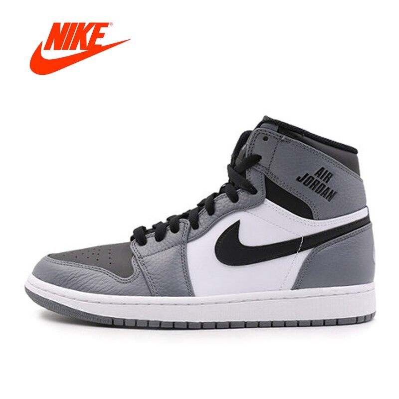 Оригинальные оригинальные новые популярные Официальный Nike Air Jordan 1 Для мужчин ретро высокого верха баскетбольной обуви спортивные кроссовк...