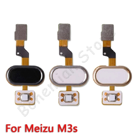 Back Home Button Fingerprint Flex Cable For Meizu M3 Note M3s Mobile Phone Repair Parts Karachi