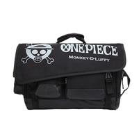 Cartoon Anime One Piece Monkey D Luffy Men Boys Women Girls Hand Bag School Book Bag