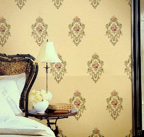 new rural style sitting room dining-room background wallpaper environmental protection PVC waterproof wear-resistant corridor