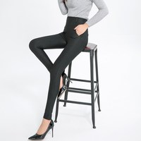 High Quality Women Autumn And Winter Cool Capris Pants Ladies Wear Of Work Business Suit Trousers