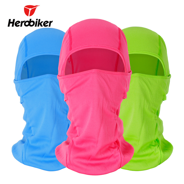 HEROBIKER Motorcycle Face Mask Balaclava Warm Windproof Breathable Cycling Ski Face Shield Airsoft Helmet Mask Masque Moto
