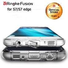 Ringke Fusion для Samsung Galaxy S7 edge чехол Гибкая ТПУ и Ясно Твердый переплет Гибридный Чехлы для Galaxy S7 силиконовый чехол
