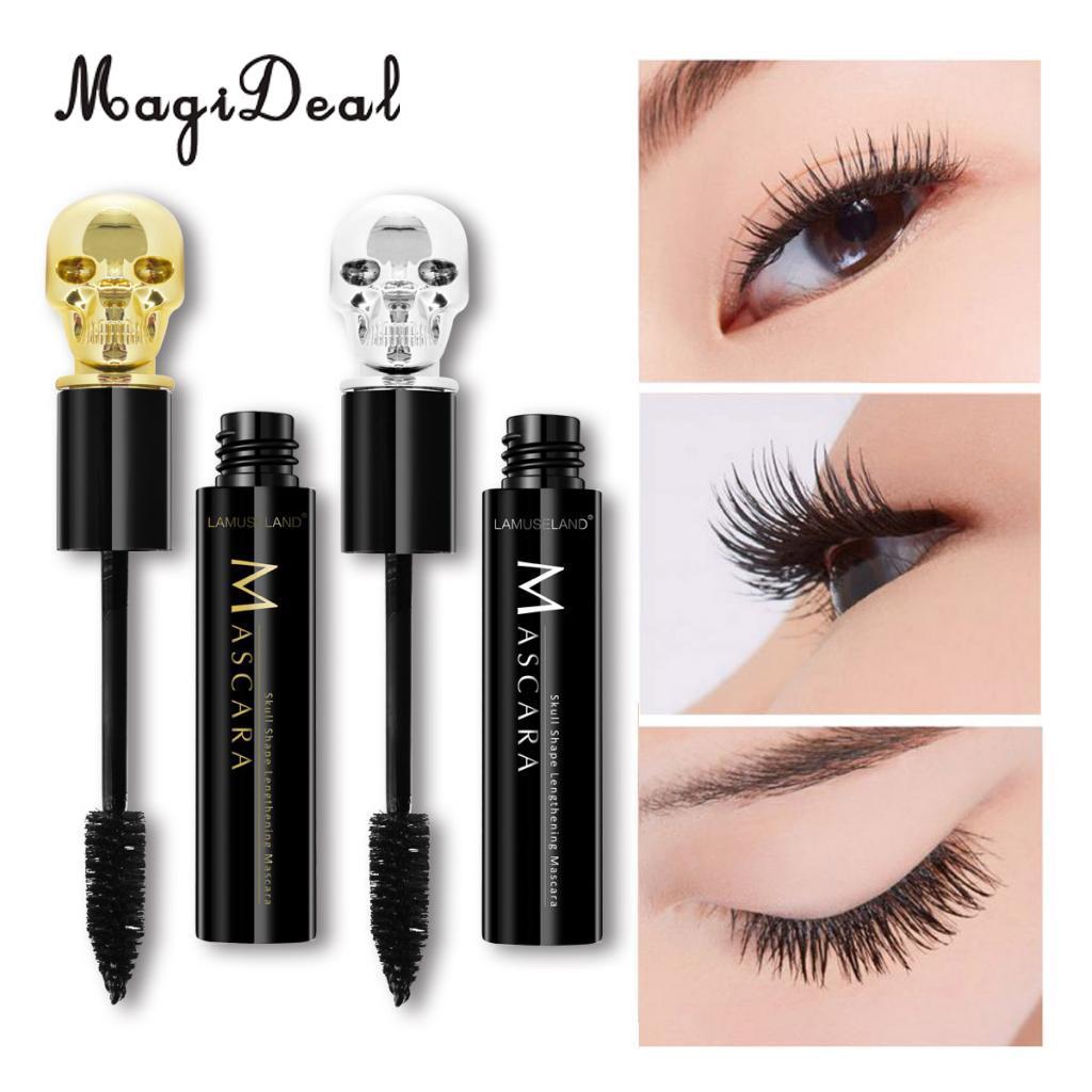Mascara Black Eyelash Thick Lenghtening Curling Volume Lash Extension Eye Makeup Tool Beauty