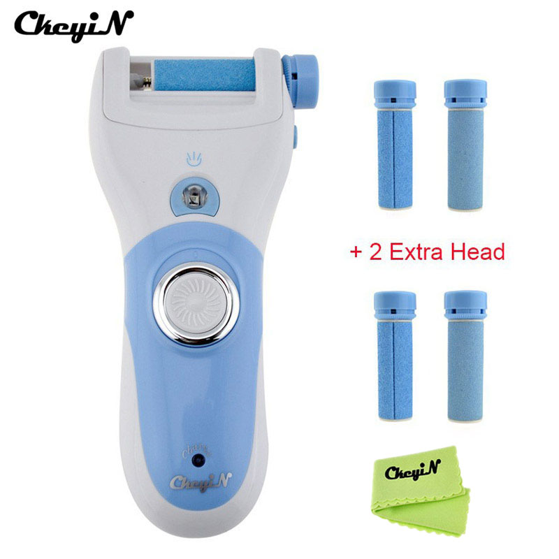 Rechargeable Foot Care Tool Express Dead Skin Removal Peeling Remover Personal Feet Care Machine Pedicure Manager with 6 Roller callus remover foot care tool pedicure machine 4pcs roller electric foot heel cuticles shaver express dead skin removal s4243