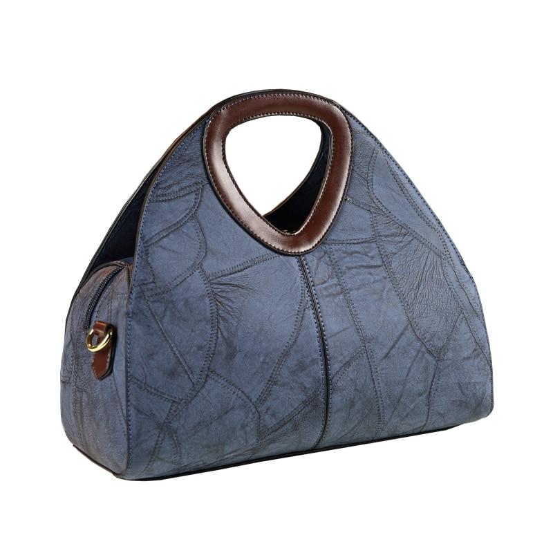 ICEV 2019 New Europe Style Retro Design Women Leather Handbags High Quality Leather Messenger Bag Ladies Office Clutches Bolsas