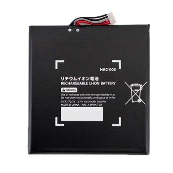 Interruptor de mando de juegos con batería integrada, batería recargable de ion...