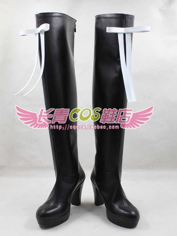 MACROSS DELTA Mikumo Guynemer cosplay scarpe stivali Custom-Made