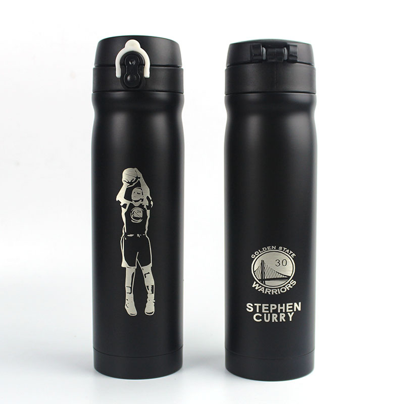 500ML Stainless steel Travel Coffee Tea Kobe sports Vacuum Insulated Thermal Water Bottle Travel Drink Bottle Thermo
