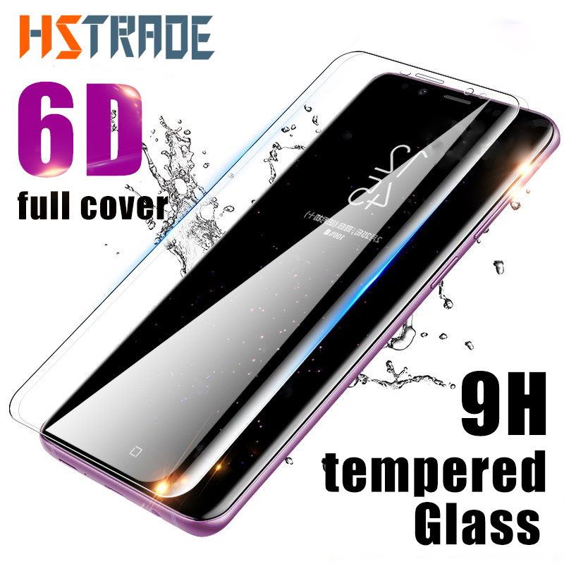 6D Full Curved Screen Protector For Samsung Galaxy S9 S8 Plu