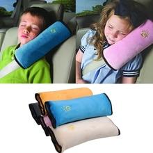 Ребенок подушка автомобиль безопасность ремень +% 26 сиденье сон позиционер защита плечо подушка регулировка автомобиль сиденье подушка для детей ребенок манежи