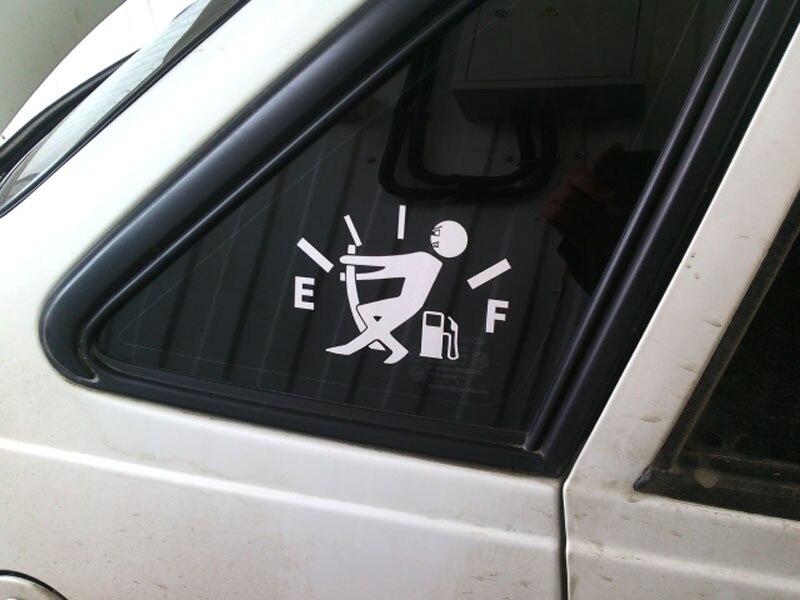 אביזרי רכב 12.7 * 9.2CM דלק לעוד בנזין קאפ ויניל מצחיק רכב מדבקות סייד מדבקות עיצוב חיצוני אביזרי פולקסווגן אאודי הונדה (4)