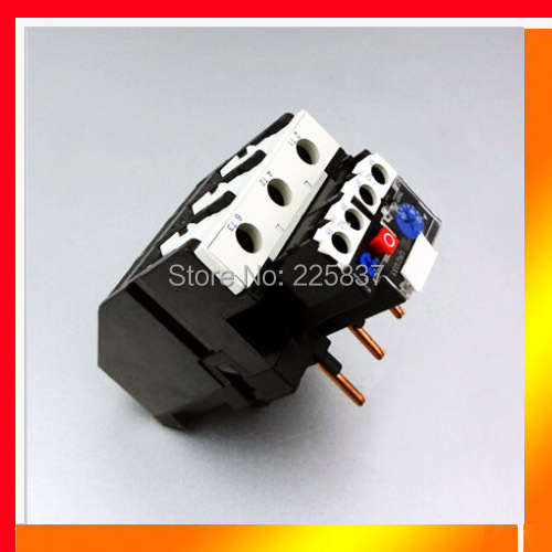 Free shipping high quality JR28 -93 / LR2-D -33 LR2D adjustable A Thermal Over load Relay starter Thermal relay