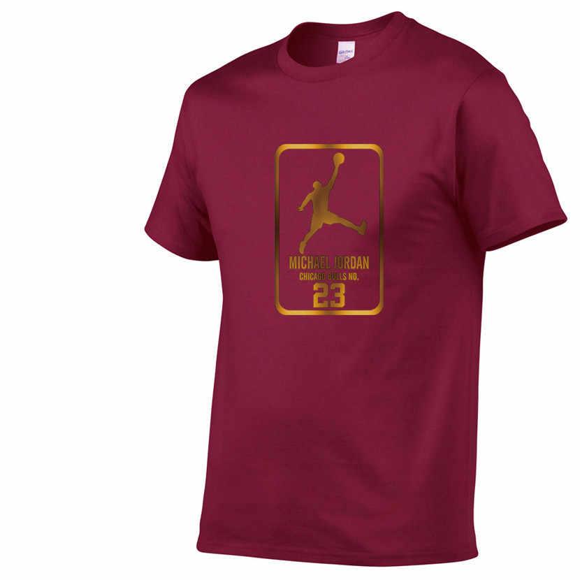 2019 novos homens de verão jordan 23 impressão hip hop t camisa masculina camisetas casuais tops casais 100% algodão tshirt roupas plus size XS-2XL
