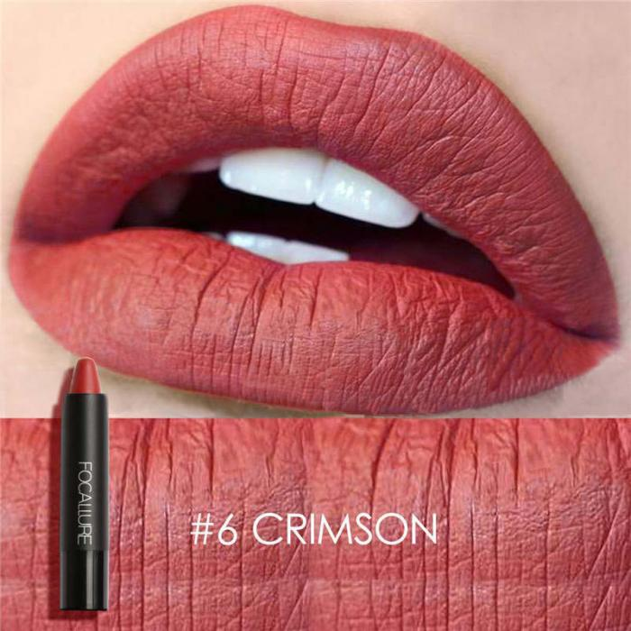 High Quality Focallure Women Matte Lipstick Pen Waterproof Long-lasting Cosmetic Nude Lady Lips Makeup Lipsticks well 13