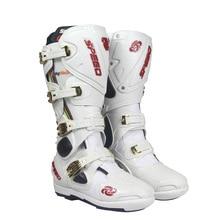 Ботинки для мотокросса; профессиональная обувь в байкерском стиле; Botas Moto Motoqueiro Motocicleta Botte Botas Para Moto; обувь