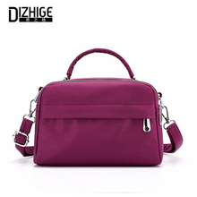 DIZHIGE Brand Fashion Waterproof Nylon Women Handbag High Quality Crossbody Bag For Women Large Capacity Female Shoulder Bag New new brand esloth for 17 laptop chinoiserie embroidered canvas bag high quality fashion 50cm 11cm 52cm national female bag
