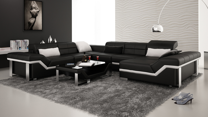 Good Quality Modern Living Room Sofa Set Designs 0413 K5007
