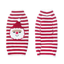 ФОТО christmas knit crochet dog sweater cothes for dachshunds dog santa claus costume golden retriever big dog coat jacket clothing