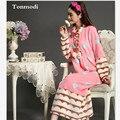 Nightgowns For Women Winter Thickening Fever Flannel Long Robe Princess Long Sleeve Nightdress Skirt Sleepwear Sleepshirts