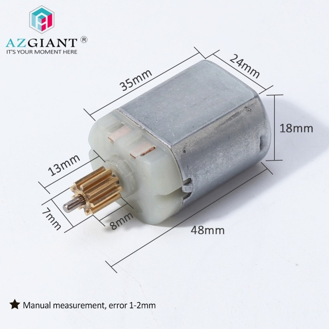 Azgiant 9 Teeth Car Trunk Lid Latch Door Lock Motor For Ford Escape Ecosport Tailgate Rear Actuator