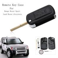 3 Przyciski Samochód Zdalnie Klucz Case Shell Z VL2330 Baterii Dla Land Rover Discovery Range Rover Sport