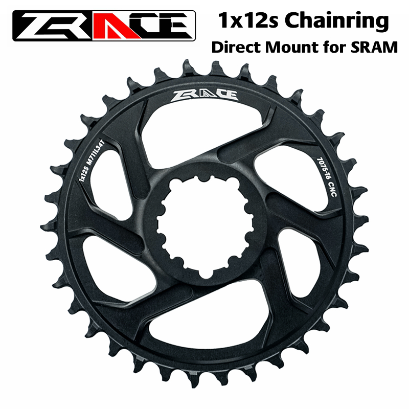 ZRACE 1 x 12s Mountain Bike Chainring offset 6mm For SRAM Direct Mount Crank image