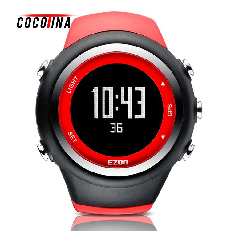 COCOTINA Hot Sale Outdoor Waterproof Digital Watch Speed Distance Calorie Counter GPS Timing Fitness Watches Sport LDZ2666 hot sale 16inch waterproof oil price led digital number display screen sign panel from china