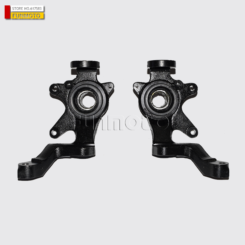 Tractor Steering Parts For Rhino : Front left and right steering knuckle claw of hisun utv