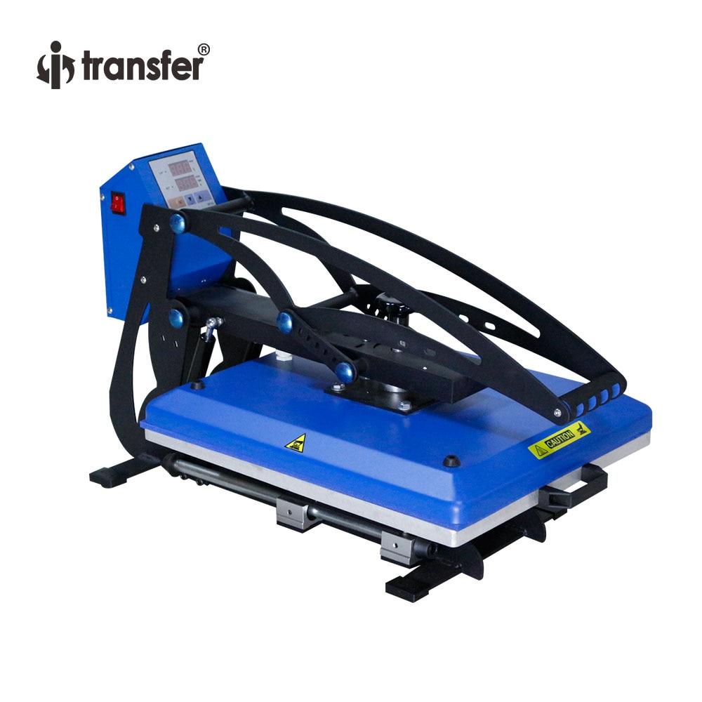 I Transfer T Shirt Sublimation Machine Drawer Type Manual Heat Press