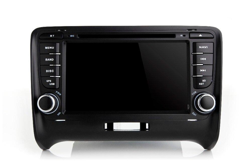 Lecteur dvd de voiture octa core android 8.0 pour Audi TT vente populaire GPS NAVI avec TDA7851 IC