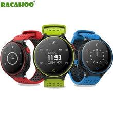RACAHOO Smart Watch On Wrist font b Smartwatch b font Heart Rate Bluetooth Blood Pressure Sleep