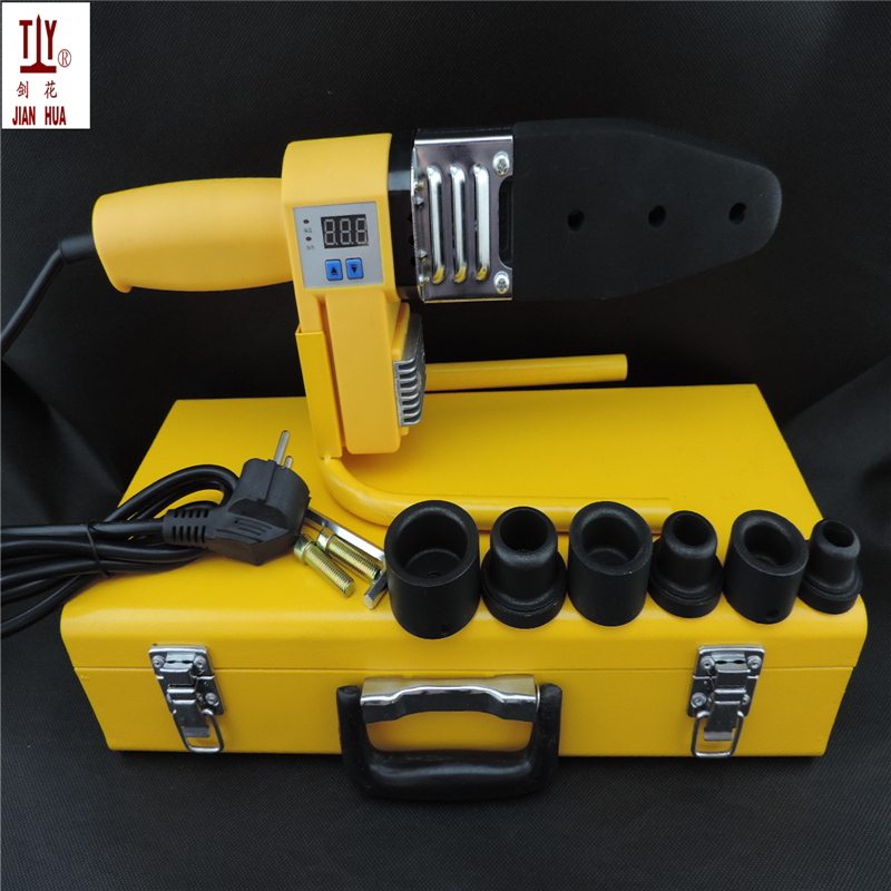 купить Free shipping DN20-32mm welding-machine-PPR 110V AC plug 800W machine for welding pvc pipe plastic welder digital display device недорого