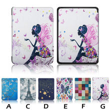 2019 Nieuwste Hot Koop Ultra Slim Smart Leather Magnetic Case Cover voor Amazon Kindle Paperwhite 4 2019 Ultra-dunne(China)