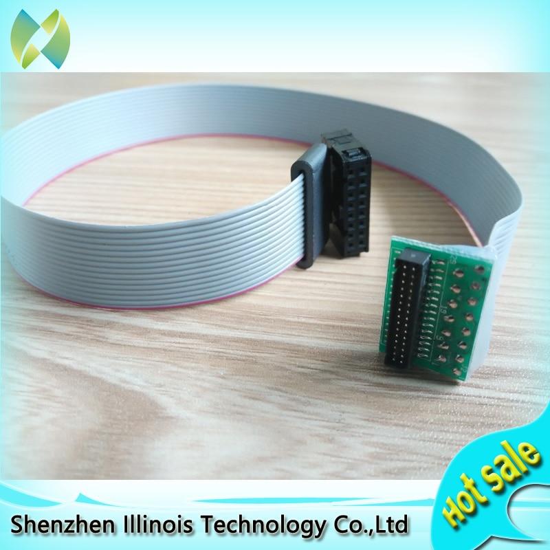 4pcs Infiniti FY8250/3312C Xaar126 Printhead Connector Cable-E110407, 30cm x 1.9cm Wide printer parts
