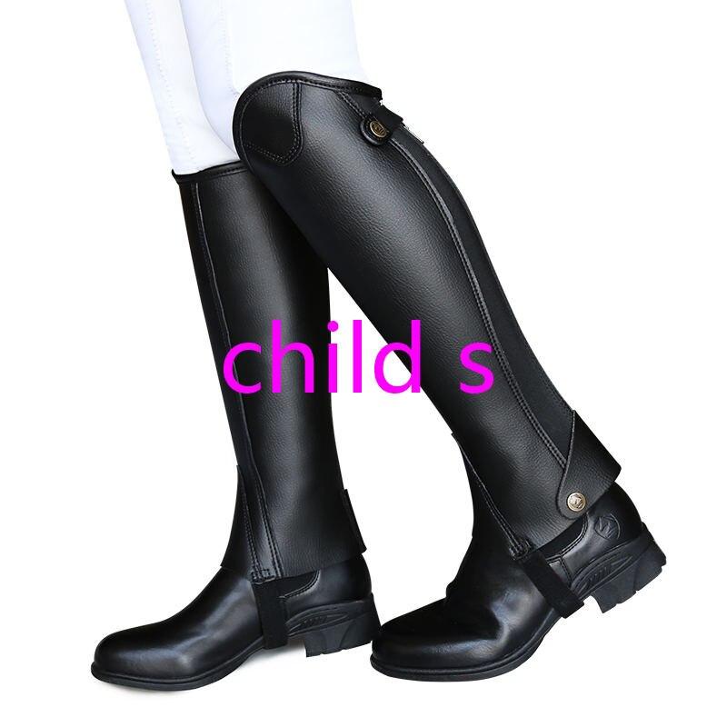 Ультра-Волоконный наездник, защита ног для верховой езды, удобные и износостойкие наездники, оборудование XXXXL для взрослых и детей - Цвет: Королевский синий
