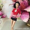 Мода Девушки Детей Подарок pullip Кукла Аксессуары лот одежда Принцесса платье случайно костюм Для Barbie Куклы оригинальный 1/6 153