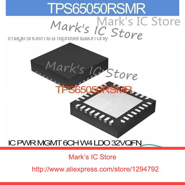 Tps65050rsmr Ic Pwr Mgmt 6ch W4 Ldo 32vqfn Tps65050rs 65050 Tps65050 65050r Tps650 65050rs Electronic Components & Supplies